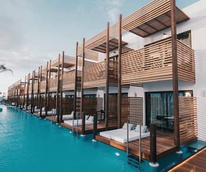 bahamas, beach, and ocean image