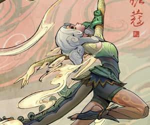 neeko, league of legends, and shan hai scroll image