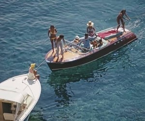 summer, boat, and ocean image