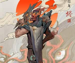 league of legends, jhin, and shan hai scroll image