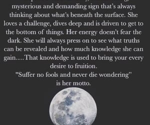 astrology, character, and quote image
