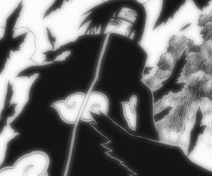 akatsuki, anime, and itachi image