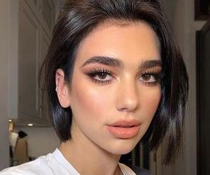dua lipa, makeup, and singer image