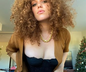 accessories, beauty, and curly hair image