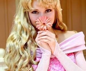 ディズニー, ピンク, and ドレス image