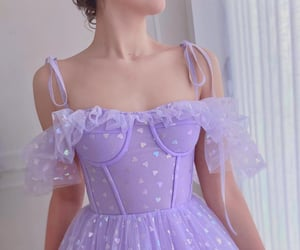 dress and hearts image