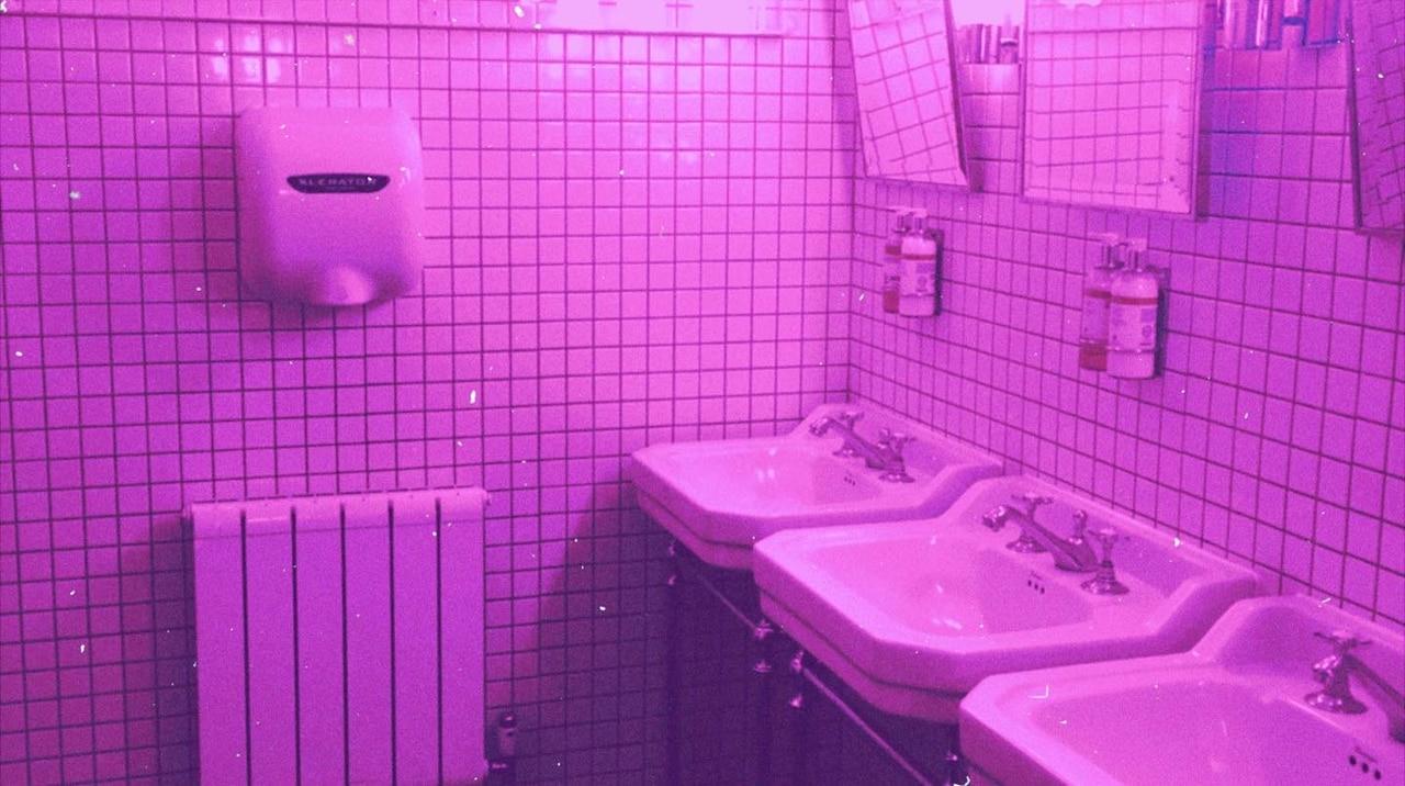 aesthetic, glow, and pink neon image