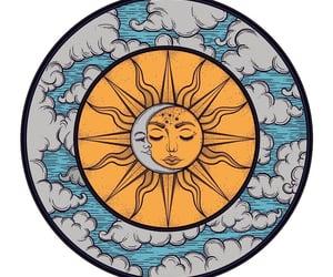 bohemian, boho, and moon image