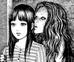 junji ito, manga, and anime image