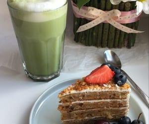 blueberry, cake, and chocolate image