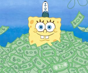 art, draw, and money image
