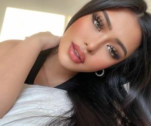 blush, eyes, and woman girl image