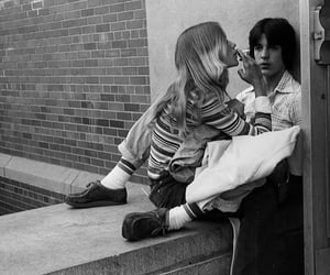 70s, couple, and black and white image