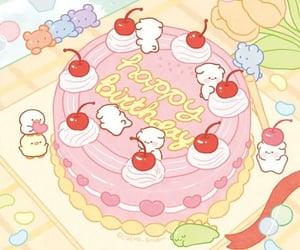 art, cake, and happy birthday image