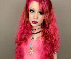 glitter, alternative fashion, and long hair image