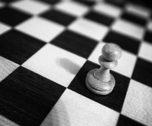 black and chess image