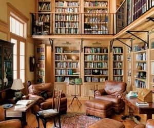 book, decor, and library image