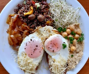 breakfast, yummy, and eat image