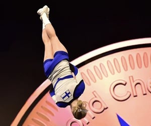 acrobatic, cheerleading, and cheer image