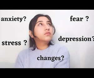 anxiety, changes, and motivational video image