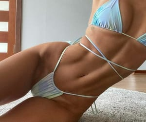 belly, fitness, and girl image