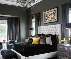 interior design and bedroom image