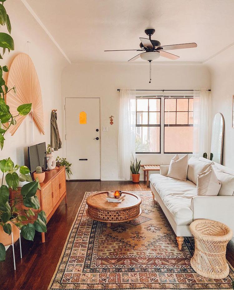 apartment, boho, and home image