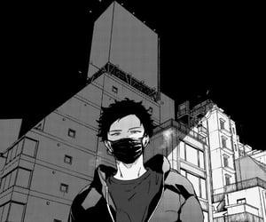 black and white, Boys Love, and manga image