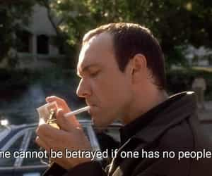 introvert, smoking, and movie quote image