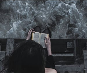 aesthetic, book, and infinity image
