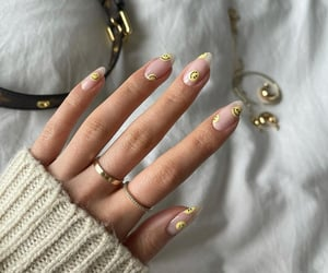 accessories, beauty, and long nails image