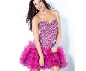 short cocktail dresses, cheap homecoming dress, and sexy homecoming dress image