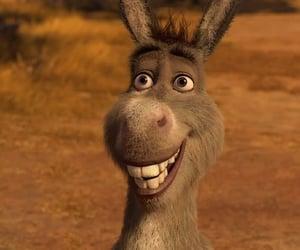 cartoon, donkey, and cartoons image