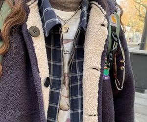 fall fashion, fashion, and graphic tee image