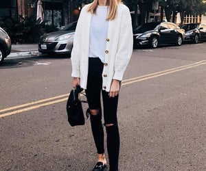 backpack, style, and white image