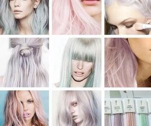 hair, pastel, and hairdye image