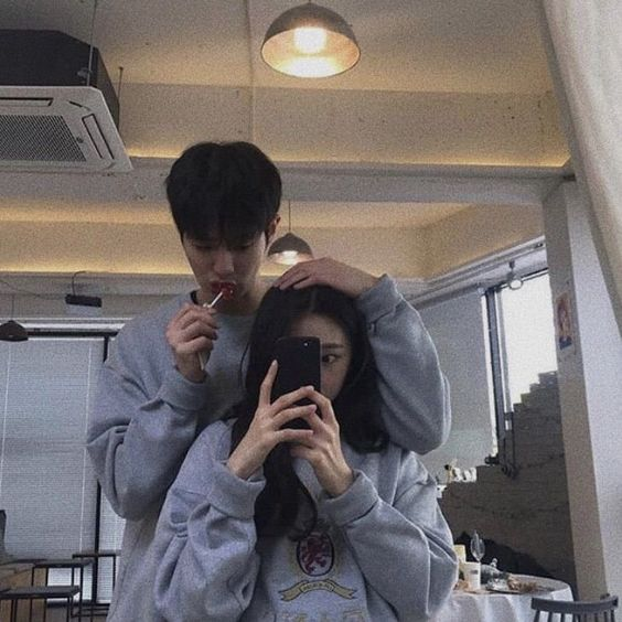 korean, asian, and couple image
