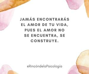 amor, rincón de la psicología, and frases image
