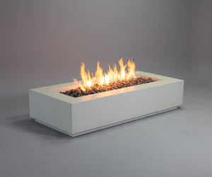 concrete fire bowl, concrete fire table, and fire pit san diego image