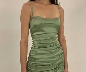 clothes, look, and short dress image