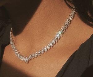 diamonds, necklace, and jewelry image