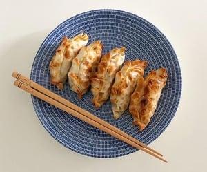 food, aesthetic, and dumplings image