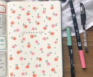 inspo, bujo, and bullet journal image
