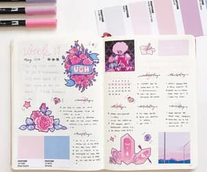journal, stationery, and note image