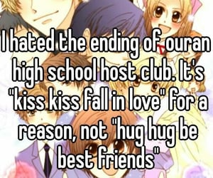 anime, funny, and ouran host club image