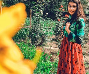 fashion, flower, and nature photography image