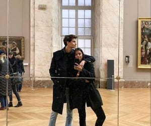 couple, love, and museum image