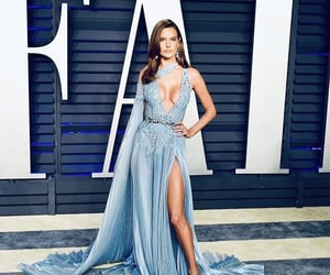 Alessandra, blue, and dress image