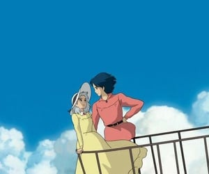 aesthetic, anime, and howl's moving castle image