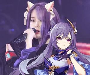 catgirl, edit, and iu image